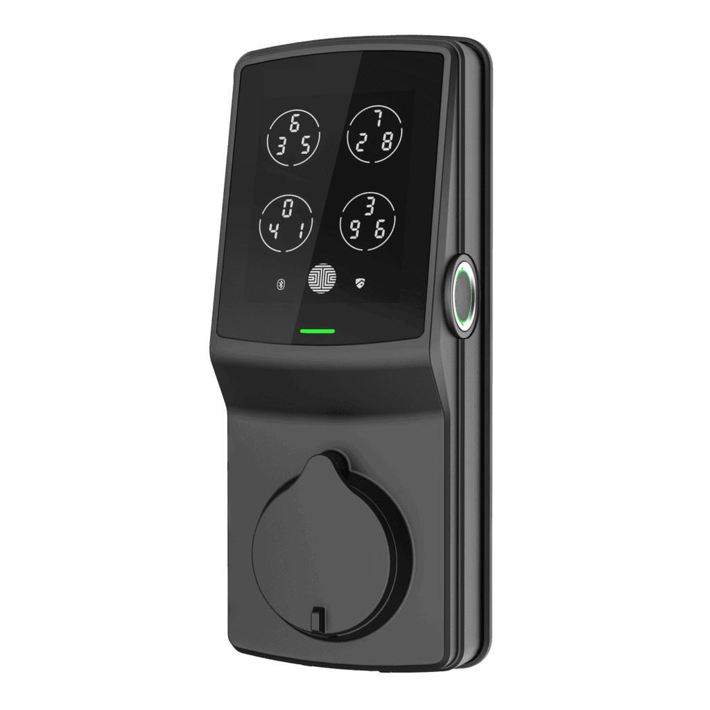 Lockly Secure Plus Matte Black