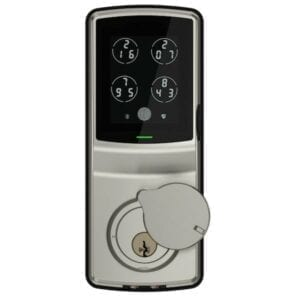 Lockly Secure Plus Satin Nickel