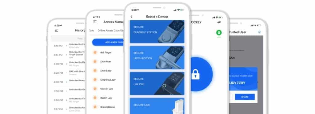 Smart Lock Phone App