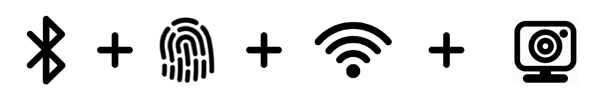 Bluetooth Fingerprint WiFi Camera Door access